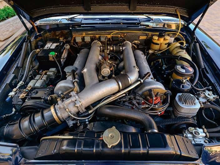 Двигатель Mercedes-Benz 600 Pullman 1969 года