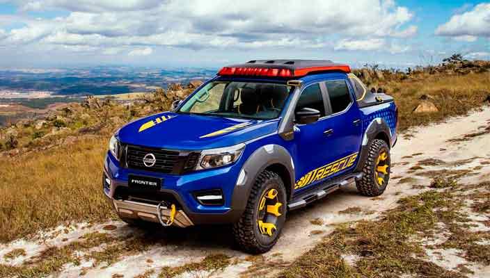 Пикап Nissan Frontier Sentinel готов к приключениям   фото