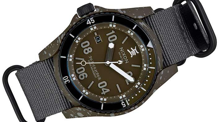 Тактические часы Nixon C.R. Stecyk III Descender