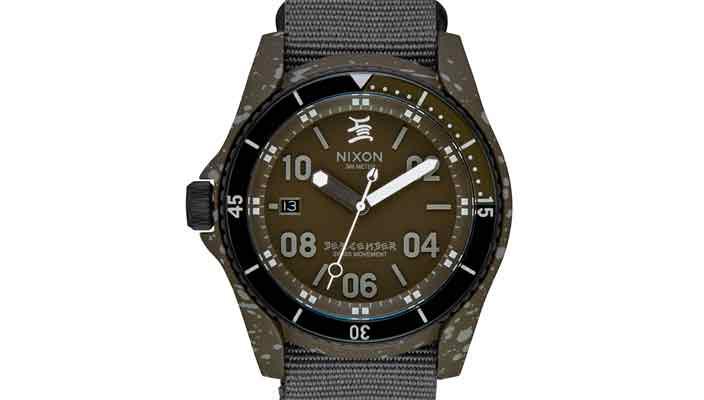 Вышли новые тактические часы Nixon C.R. Stecyk III Descender