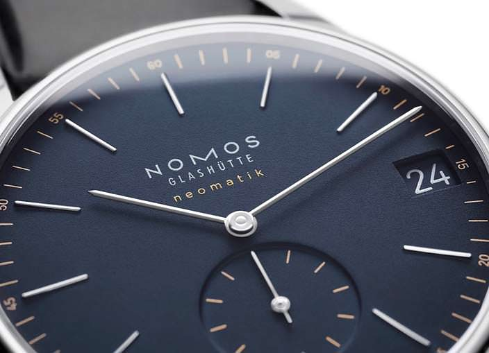 Циферблат часов Nomos Orion Neomatik 41 Date