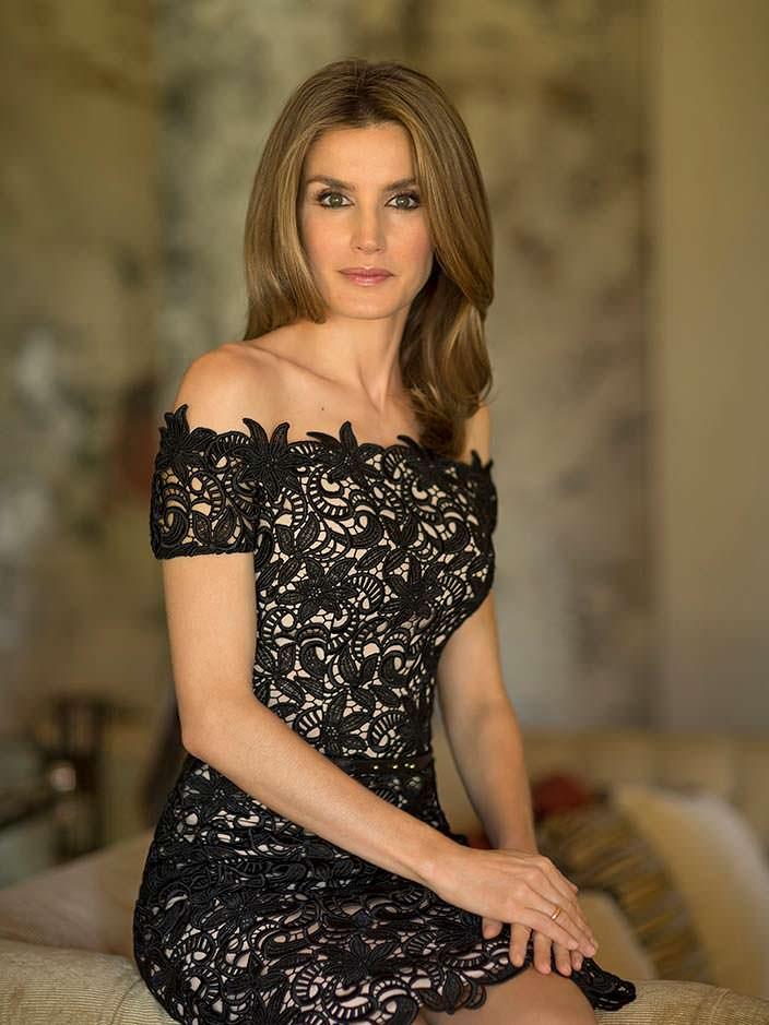 Фото   Королева Испании Летисия