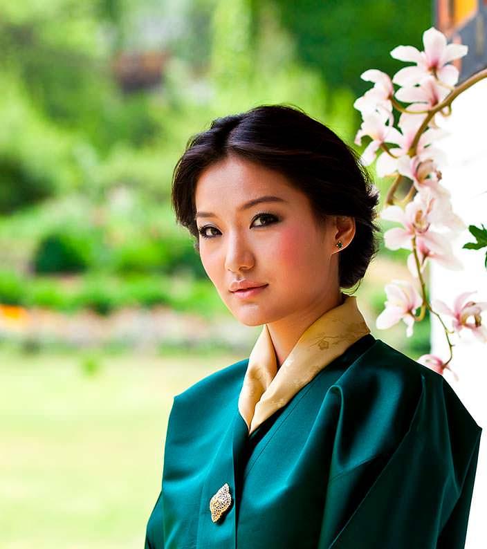 Фото   Королева Бутана Джецун Пема Вангчук