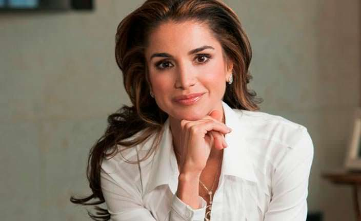 Фото   Королева Иордании Рания аль-Абдулла