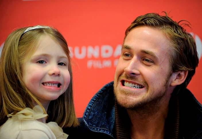 Фото | Райан Гослинг с дочерью