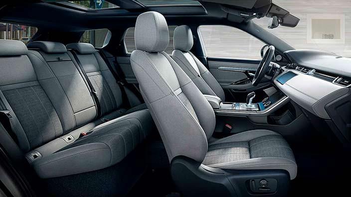 Интерьер Range Rover Evoque