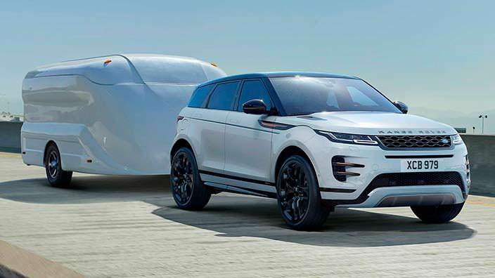 Новый Range Rover Evoque 2020