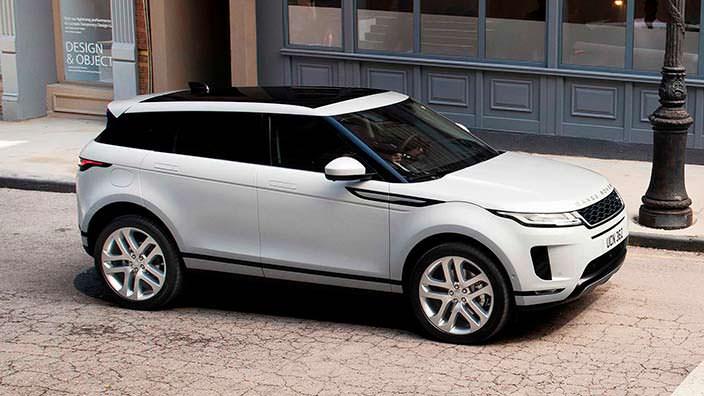 Премиальный кроссовер Range Rover Evoque 2020 года