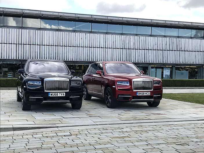 Начало продаж Rolls-Royce Cullinan в Британии