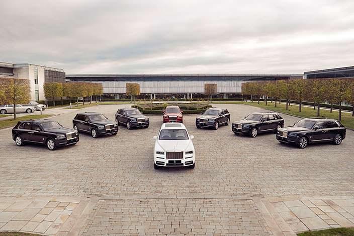 Элитный внедорожник Rolls-Royce Cullinan