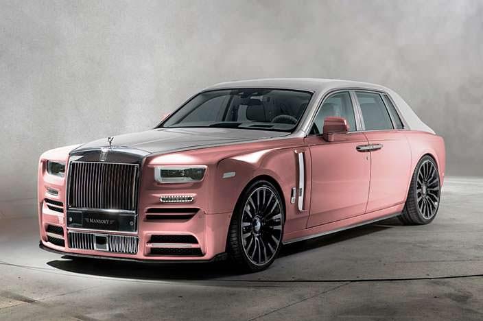 Необычный тюнинг Rolls-Royce Phantom от Mansory