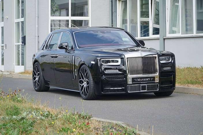 Rolls-Royce Phantom VIII. Тюнинг от Mansory