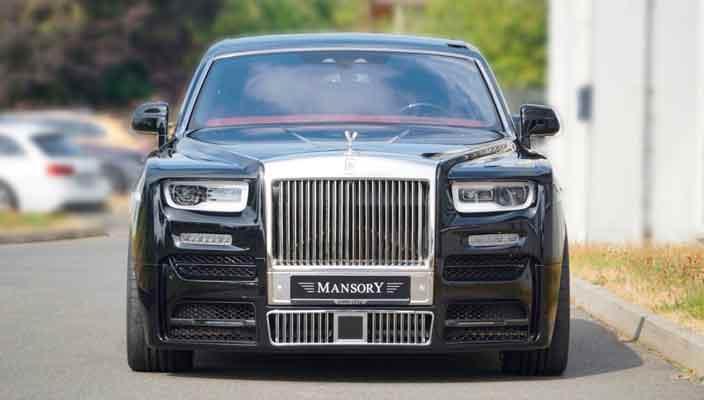 Новый Rolls-Royce Phantom VIII получил тюнинг Mansory | фото