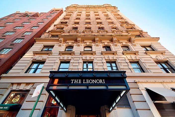 Многоквартирный 13-этажный дом The Leonori в Нью-Йорке