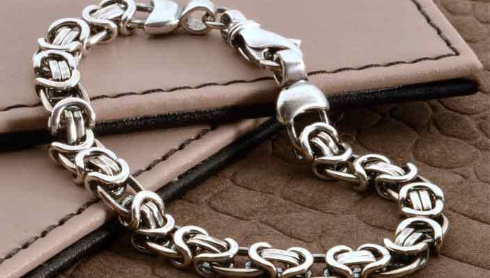 Серебряные украшения браслеты и кольца от Kristall