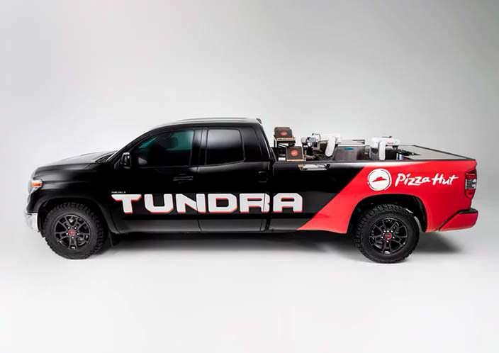 Пицца-пикап Toyota Tundra PIE Pro
