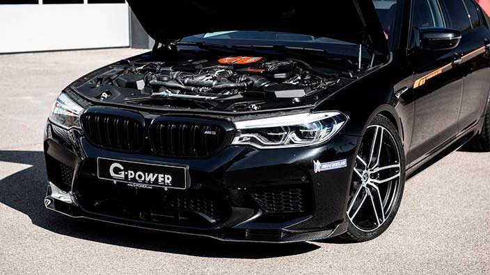 Двигатель 4,4-литра V8 BMW M5. Мощность 789 л.с.