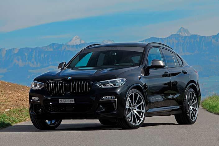 Купе-кроссовер BMW X4 G02. Тюнинг Dahler Competition