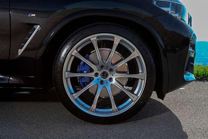 Колесные диски для BMW X4 от Dahler Competition