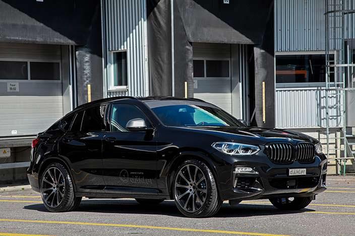 Кроссовер BMW X4 G02. Тюнинг Dahler Competition