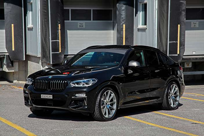 BMW X4. Тюнинг Dahler Competition