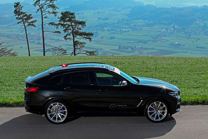 BMW X4 от Dahler Competition
