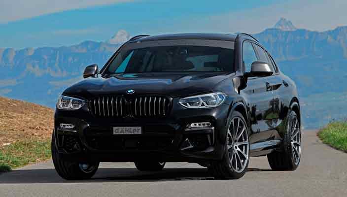 Новая BMW X4 доработана в ателье Dahler Competition | фото