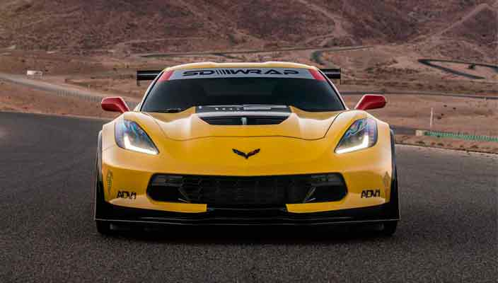 Тюнинг Chevrolet Corvette Z06 до уровня болида C7.R | фото