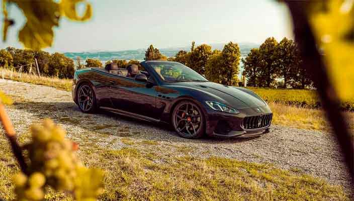 Тюнинг Maserati GranCabrio до 477-сил от Pogea Racing   фото