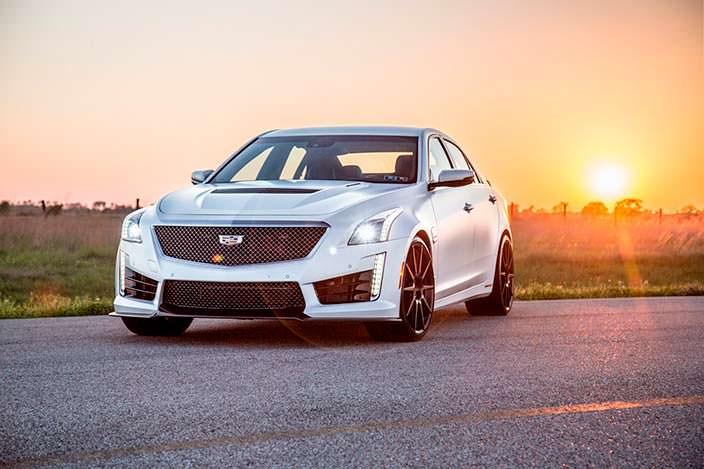 Спортивный седан Cadillac CTS-V. Тюнинг Hennessey