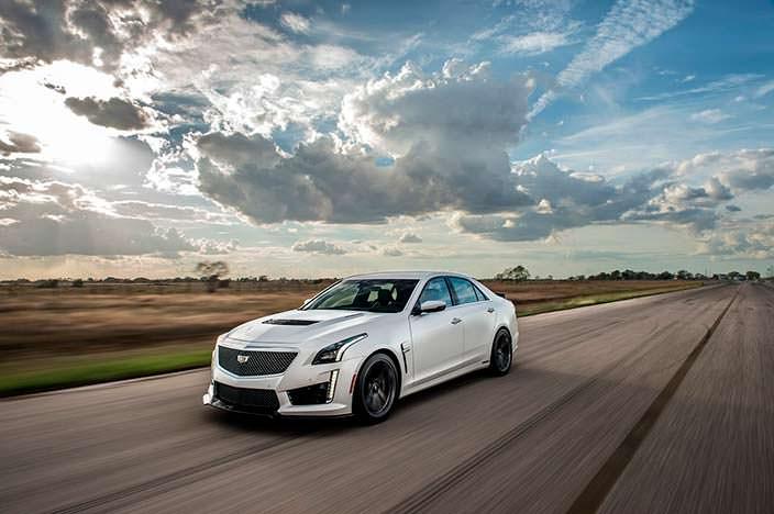 Тюнинг Cadillac CTS-V от Hennessey. Мощность 1000 л.с.