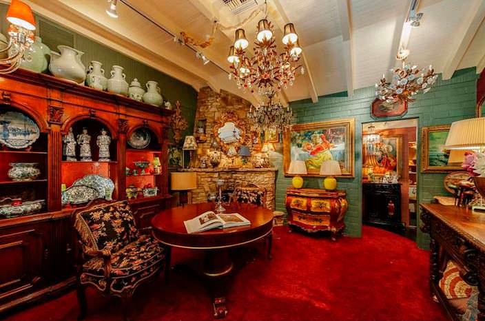 Дизайн интерьера в доме знаменитости