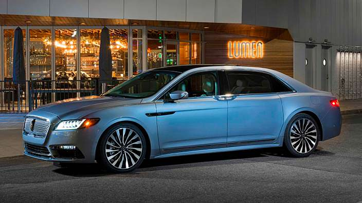 Спецверсия Lincoln Continental Coach Door Edition