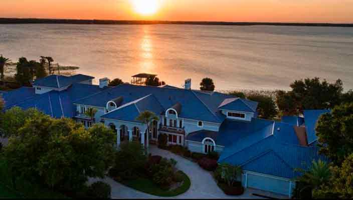 Шакил О'Нил продает мега-дом во Флориде со скидкой $6 млн