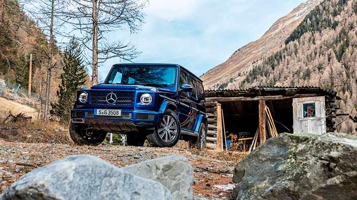 Новый Mercedes G 350d