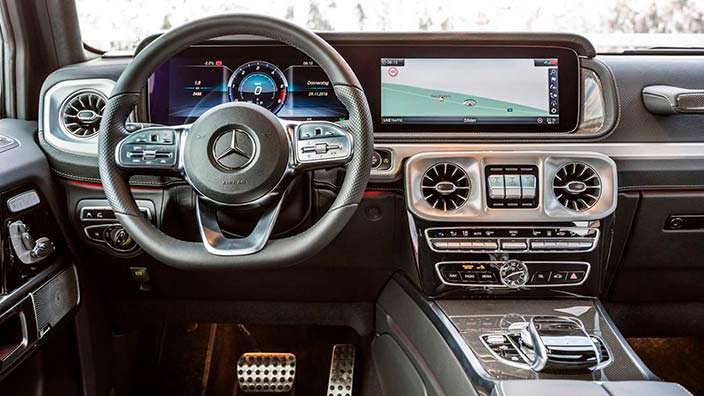 Фото салона Mercedes-Benz G-Class второго поколения