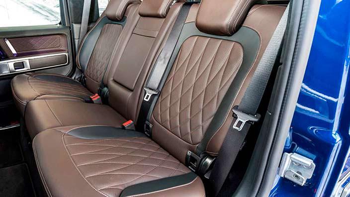 Задние сиденья Mercedes-Benz G-Class второго поколения