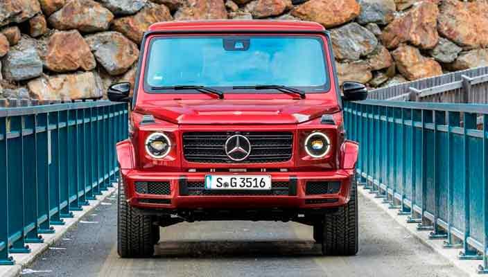 Новый Mercedes G-Class получил дизельную версию G 350d