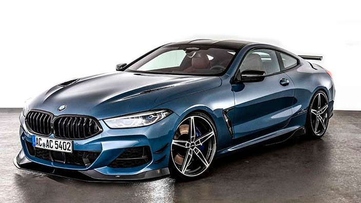 Тюнинг BMW 8-Series Coupe от AC Schnitzer
