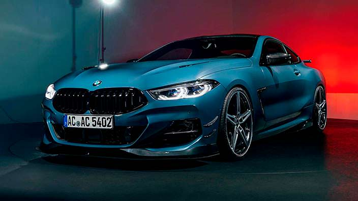BMW 8-Series Coupe. Тюнинг от AC Schnitzer