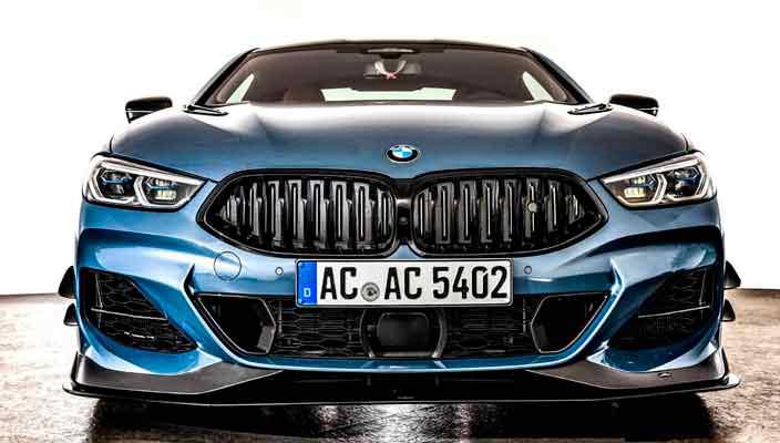 Агрессивный тюнинг BMW 8-Series Coupe от AC Schnitzer   фото