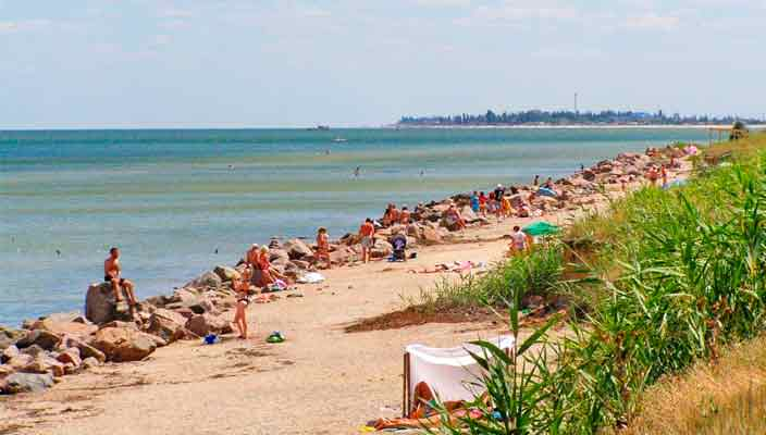 Геническ – универсальный курорт на Азовском море