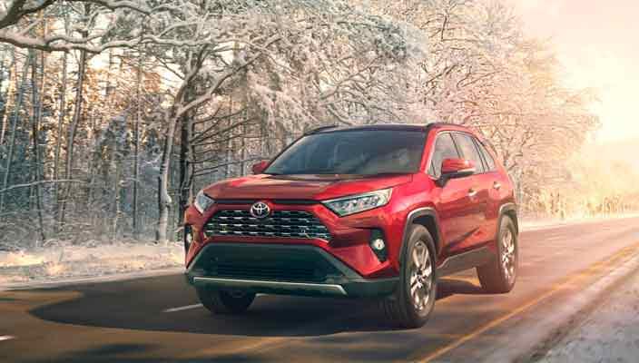 Актуальный ассортимент автомобилей Toyota у дилеров в 2019 году