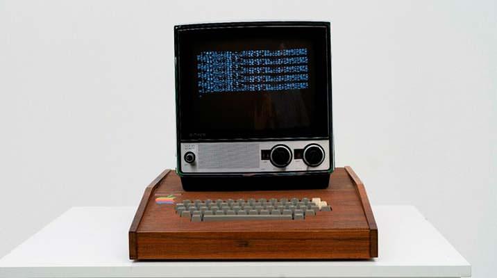 Продается уникальный Apple-1 с монитором Sony TV-115 | цена