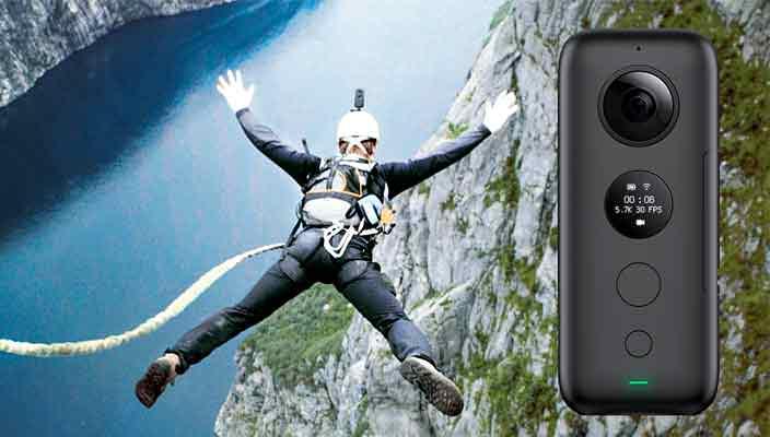 Экшн-камера Insta360 One X: возможности нового уровня