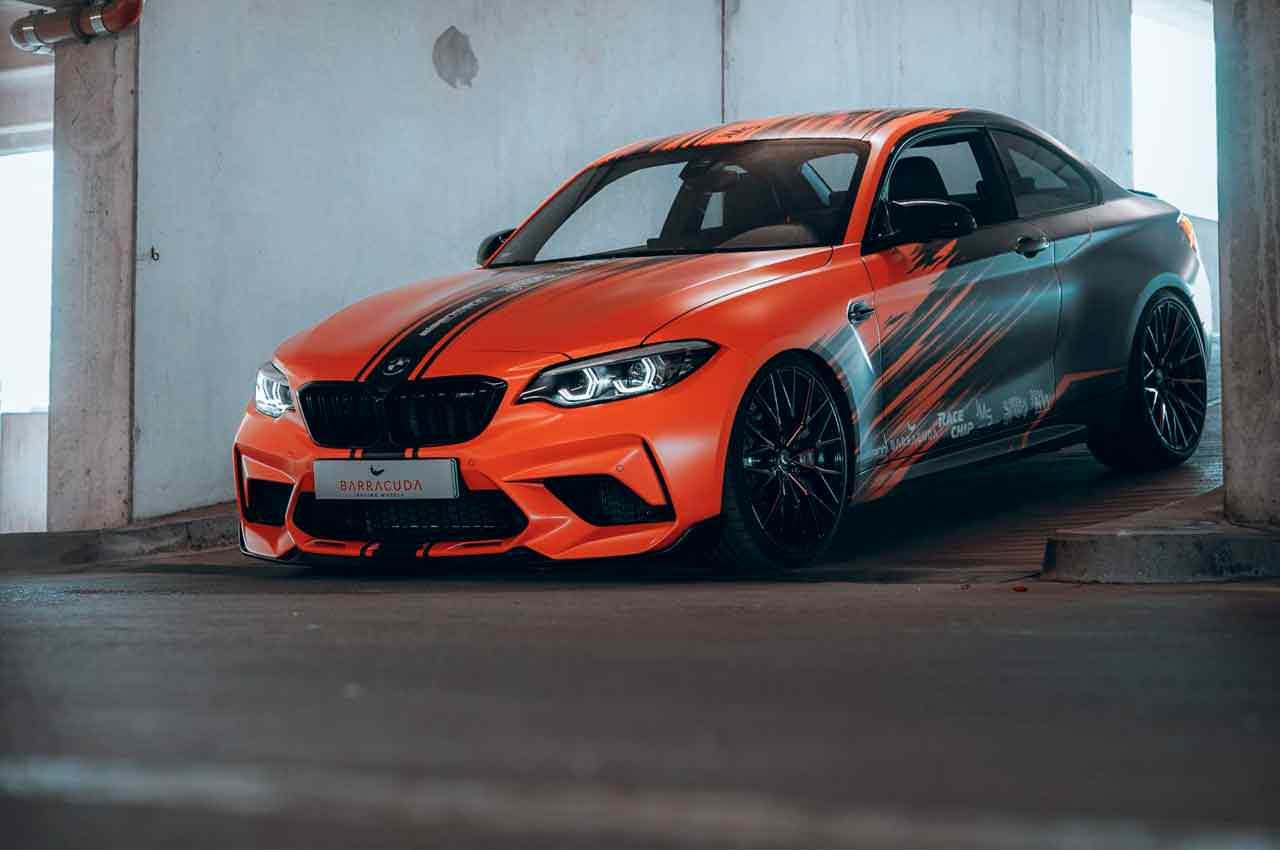Тюнинг спорткупе BMW M2 Competition от в JMS Fahrzeugteile   фото