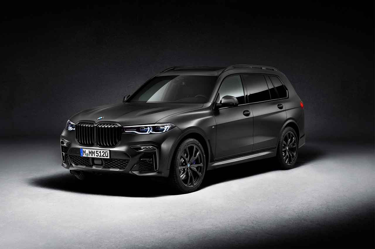 Новый BMW X7 Dark Shadow Edition - спецверсия из 500 шт. | фото