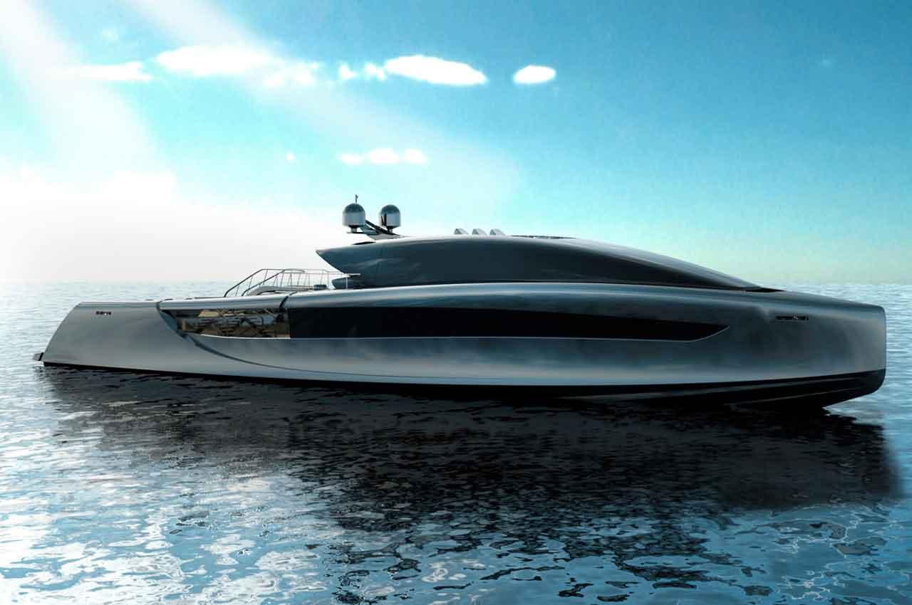 Футуристический концепт яхты Imera от Себастьяно Канто | фото