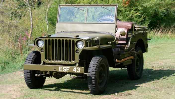 Военный Jeep генерала Эйзенхауэра продадут онлайн | цена