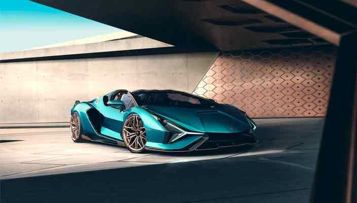 Lamborghini выкатила Sián Roadster. Всего 19 шт. | фото, цена